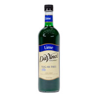 DaVinci Gourmet 750 mL Lime Sugar Free Coffee Flavoring Syrup