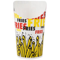 Dart Solo GSP55-83013 7.5 oz. Paper French Fry Scoop Cup 1000/Case