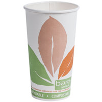 Dart Solo 420PLA-J7234 Bare Eco-Forward 20 oz. Paper Hot Cup - 40 / Pack