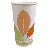 Dart Solo 420PLA Bare 20 oz. PLA Hot Cup - Compostable 40 / Pack