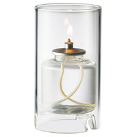 Sterno Products 80120 Nikola 4 1/2 inch Clear Round Glass Liquid Candle Holder