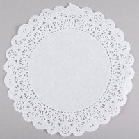 8 inch Lace Normandy Grease Proof Doilies - 500/Pack