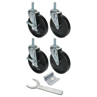 Beverage Air 00C31-038A 6 inch Replacement Casters - 4/Set