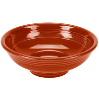 Homer Laughlin 765334 Fiesta Paprika 2 Qt. Pedestal Serving Bowl - 4/Case
