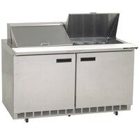 Delfield 4460N-18M 60 inch Mega Sandwich / Salad Prep Refrigerator