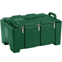 Cambro 100MPC519 Camcarrier Green Top loading Pan Carrier with Handles for 12 inch x 20 inch Food Pans
