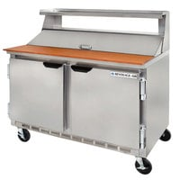 Beverage Air SPE48-08 48 inch Refrigerated Salad / Sandwich Prep Table