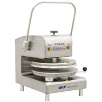 DoughXpress D-TXM-2-18 Dual Heat Round Manual Tortilla Press 18 inch - 220V