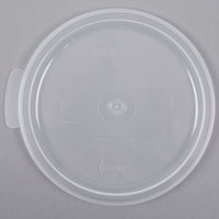 Cambro RFSC1PP190 Translucent Lid for Cambro Translucent 1 Qt. Round Container