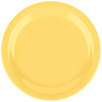 Carlisle 4385422 Honey Yellow Dayton 7 1/4 inch Melamine Salad Plate - 48/Case