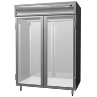 Delfield SAR2N-G 44 Cu. Ft. Two Section Glass Door Narrow Reach In Refrigerator - Specification Line