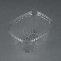 Dart Solo C16DERW ClearPac 16 oz. Clear Rectangular Plastic Container - 1008/Case