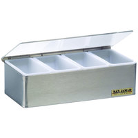 San Jamar B4124L Garnish Tray - 4 Pint (2 Qt.) Capacity