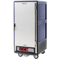 Metro C537-HFS-U-BU C5 3 Series Heated Holding Cabinet with Solid Door - Blue