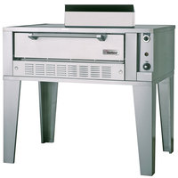 Garland G2072 Natural Gas 55 1/4 inch Double Deck Gas Pizza Oven - 80,000 BTU