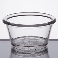 GET ER-025-CL 2.5 oz. Clear Smooth Plastic Ramekin   - 12/Pack