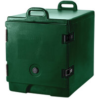Cambro 300MPC519 Green Camcarrier Pan Carrier with Handles - Front Load for 12 inch x 20 inch Food Pans
