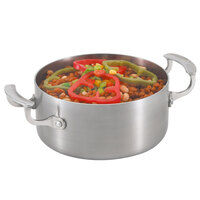 Vollrath Miramar Display Cookware 49410 3 Qt. Casserole Pan with Low Dome Cover