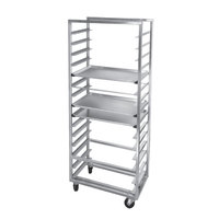 Channel 413S-OR Side Load Stainless Steel Bun Pan Oven Rack - 12 Pan