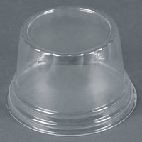 WNA Comet LHCDPET 5, 8, 12 oz. Clear Plastic Dome Lid for Classic Sundae Cups 1000 / Case