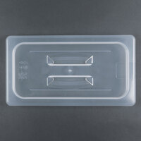Cambro 30PPCH 1/3 Size Translucent Polypropylene Handled Lid