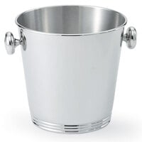 Vollrath 48320 Stainless Steel Wine Bucket with Handles and Silverplated Finish