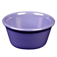 Purple 4 oz. Smooth Melamine Ramekin - 48/Case