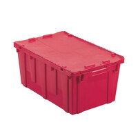 Vollrath 52645 Tote 'N Store 23 5/8 inch x 13 7/8 inch x 11 5/8 inch Red Chafer Box