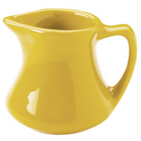 Hall China 30195320 Sunflower 3.5 oz. Colorations Empire Creamer - 24/Case