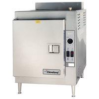 Cleveland 21CGA5 SteamCraft Ultra Natural Gas 5 Pan Countertop Steamer - 70,000 BTU