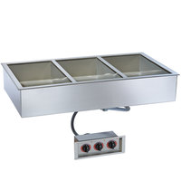 Alto-Shaam 300-HW/D6 Three Pan Drop In Hot Food Well - 6 inch Deep Pans, 120V