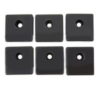 Metro WGBRKT Smartwall G3 Black Plastic Grid Mounting Bracket Kit for Wall