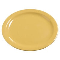 Carlisle 4385022 Honey Yellow Dayton 10 1/4 inch Melamine Dinner Plate - 48 / Case