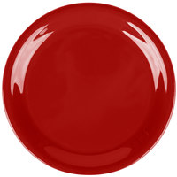 Carlisle 3300805 6 1/2 inch Red Sierrus Narrow Rim Pie Plate - 48/Case