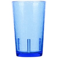 Cambro D8608 Del Mar 8 oz. Sapphire Blue Customizable Plastic Tumbler - 36/Case