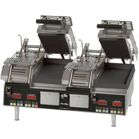 Star GR28SPTI Pro-Max Dual Split Top Panini Grill Smooth - 208/240V