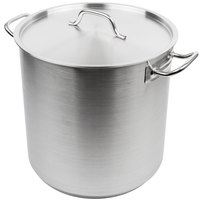 Vollrath 3509 Optio 38 Qt. Stock Pot with Cover