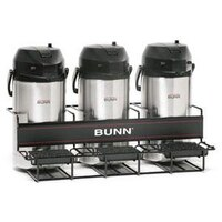 Bunn 35728.0002 UNIV-3 APR Three Pot Universal Airpot Rack