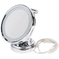 Conair BE8WMBW 8 inch Diameter Lighted Wall Mount Mirror