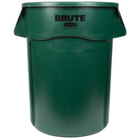 Rubbermaid 1779741 BRUTE 44 Gallon Green Trash Can (FG264300DGRN)