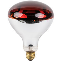 Lavex Janitorial 250 Watt Red Infrared Heat Lamp Light Bulb