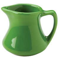 Hall China 30195324 Shamrock 3.5 oz. Colorations Empire Creamer 24 / Case