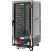 Metro C537-CFC-L-GY C5 3 Series Heated Holding and Proofing Cabinet with Clear Door - Gray