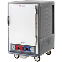 Metro C535-CFS-L-GY C5 3 Series Heated Holding and Proofing Cabinet with Solid Door - Gray
