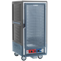 Metro C537-CFC-4-GY C5 3 Series Heated Holding and Proofing Cabinet with Clear Door - Gray