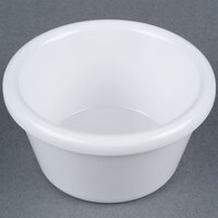 2 oz. White Smooth Melamine Ramekin   - 12/Pack