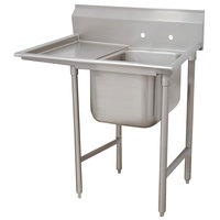 Advance Tabco 9-21-20-18 Super Saver One Compartment Pot Sink with One Drainboard - 44 inch