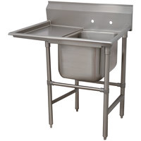 Advance Tabco 94-21-20-18 Spec Line One Compartment Pot Sink with One Drainboard - 44 inch
