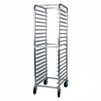 Win-Holt AL-1820B/XB 20 Pan End Load Aluminum Bun / Sheet Pan Rack - Assembled
