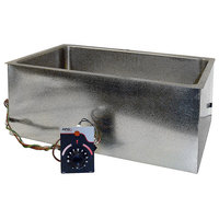 APW Wyott BM-80 UL Listed Bottom Mount 12 inch x 20 inch Insulated High Performance Hot Food Well